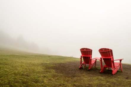 CHAIRS LOOKING OUT