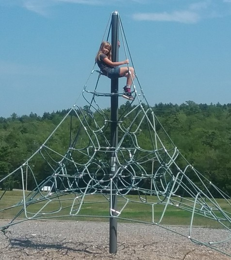 kiara on climber
